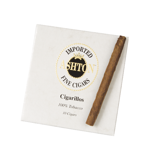 Ashton Cigarillo Tin (3.75x26 / Tin of 10)