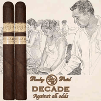 Rocky Patel Decade Robusto (5x50 / Box 20) + $60 Rocky Patel Lighter + FREE SHIPPING ON YOUR ENTIRE ORDER!