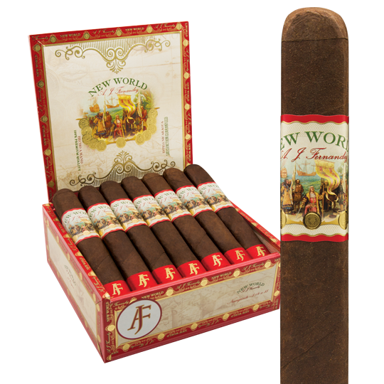 AJ Fernandez New World Robusto (5.5x55 / Box 21)