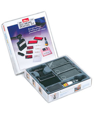 Shiny® Self-inking Printing Kit - 3, 4 & 5mm Text - 5 Lines (1 Unit)