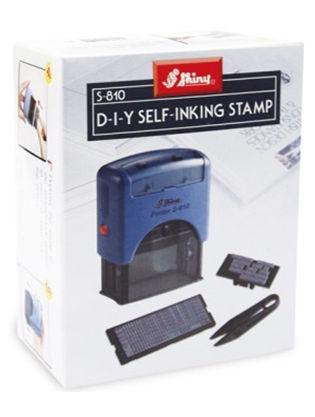 Shiny® Self-Inking Printing Kit - 4mm Text - 5 Lines (1 Unit)