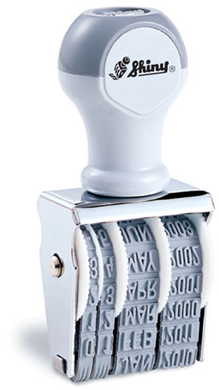 Shiny® Non Self-Inking Date Stamps (1 Piece)