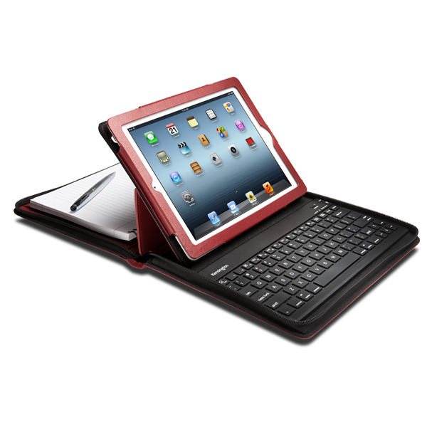 Kensington KeyFolio Executive Mobile Organiser - Red (Single Unit)