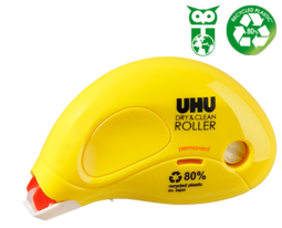 UHU Dry & Clean Roller - 1 Tube (6 Units)