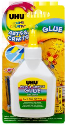UHU Arts & Craft Glue 125ml (12 Pieces)