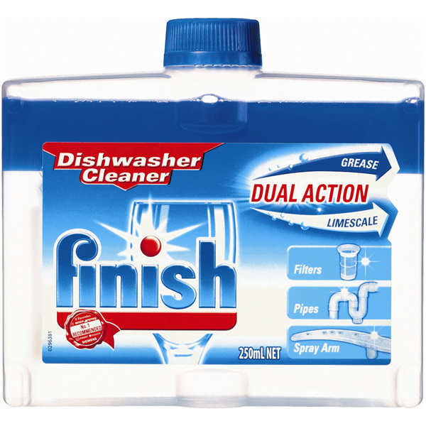 Finish Dish Washer Cleaner 250Ml (By Carton - See Desc.)