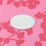 2mm Chunky Aluminium Oval Stamping Tag Blank - 35x25mm