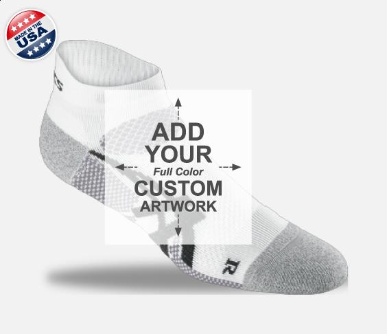 Low Cut Custom Sock