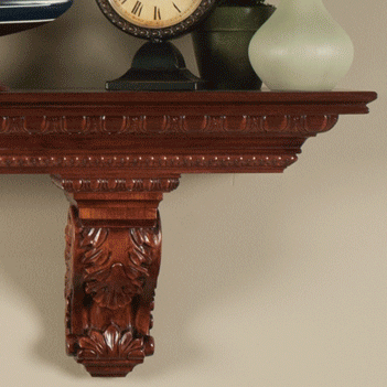 90 mantel shelf