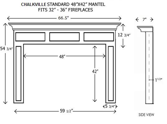 Chalkville Standard 48 42 Png