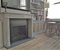Our French marble mantel #107 in Cararra was perfectly paired with our black slate in this Manhattan apartment remodel