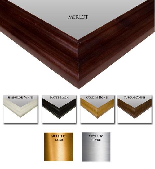 Custom Mirror Frame Wood | Finish | Stain | Color Sample