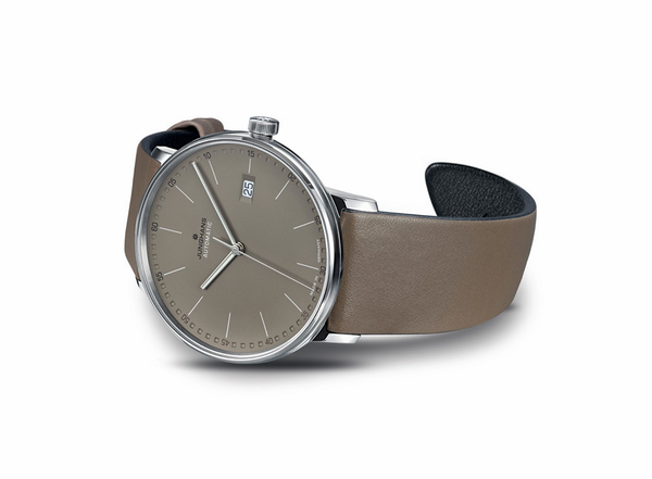 Junghans Form A German Watch Automatic Matt Taupe Dial 027/4832.00 (4000897390662) for sale online www. Legendoftime.com and in store Chicago Watch Center - Authorized Junghans USA & Canada Dealers.