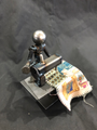 Handcrafted Found Art Sewing Machine