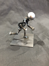 Handcrafted Found Art Runner