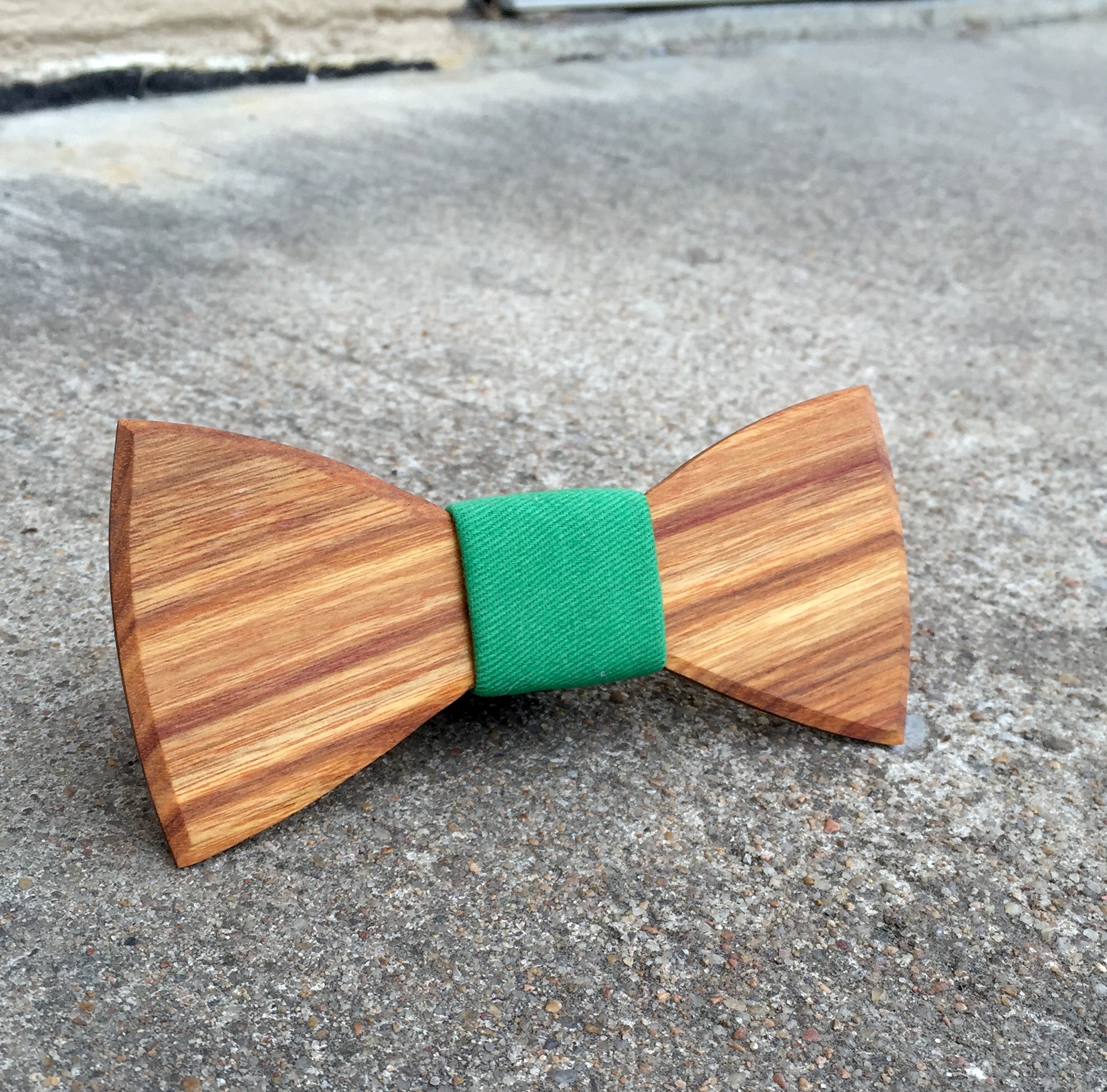 e32d1aa87770 You could also create your own hand-crafted wooden bow tie to rep your  favorite sports team or alma mater. Show your pride in the most dapper way  possible.