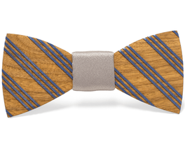 Unique handcrafted wooden bow ties made by Two Guys Bow Ties.