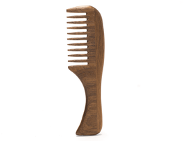 Wallet Sized Walnut Beard Comb