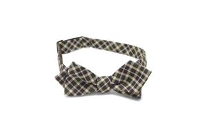 Navy/Hunter Green Tartan - Bow Tie