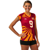 Mizuno Women's Full Sublimated Jersey (Lightning)