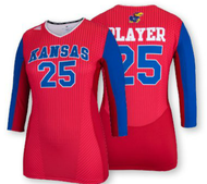 Adidas Women's Team Sublimated 3/4 Sleeve Jersey