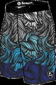 Harvest Blue Storm Boardshort - Blue