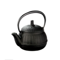 Oigen Cast iron tea Pot Chigusa 0.25L  (coating di dalam dan Saringa mesh stainless)