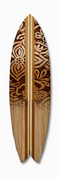 Surfboard graphic batik design