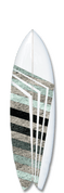 Solider surfboard design.