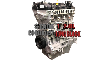 SP63 Stage 1 Long Block For Ford Ecoboost 2.0L Rated 500hp+