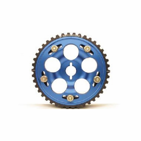 Part Number: fid986239 Description: Cam Gear; Square Tooth Title: Fidanza Cam Gear Adjustable Ford 2.3L SQ Blue Color: Blue
