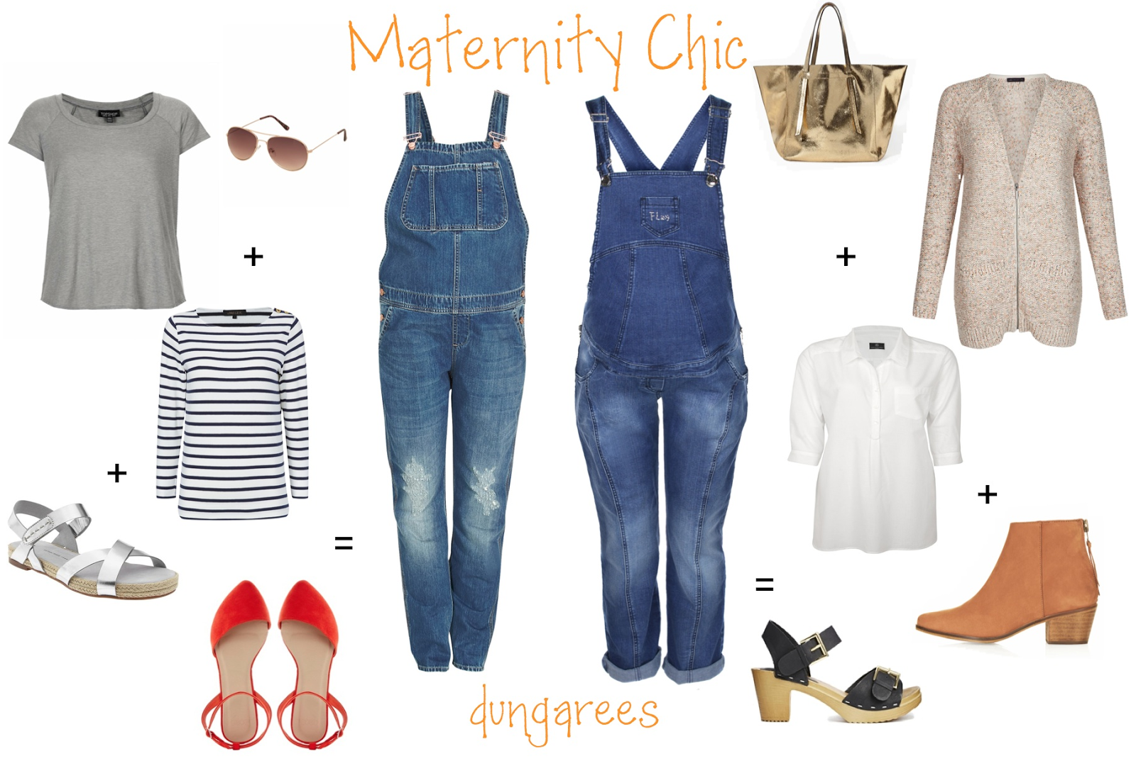 9e2c286b64171 Maternity Dungarees: One Denim Piece That Is Going To Refresh Your Maternity  Wardrobe