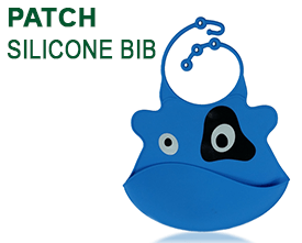 Patch Silicone Baby Bib