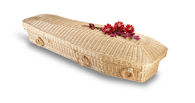 White Willow Wicker Eco Pod Coffin