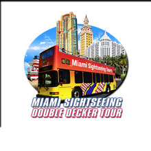 Miami Sightseeing Hop-On Hop-Off Double Decker Miami Tours