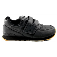 574 LEATHER VELCRO NEW BALANCE