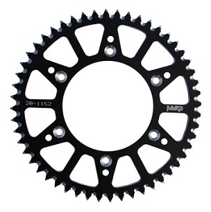 YAMAHA WR250F WR450F REAR ALLOY SPROCKET 48 49 50 51 52, 2001-2018