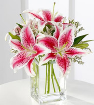 The Pink Lily Bouquet