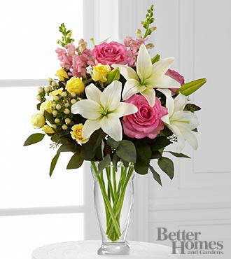 Blooming Rose & Lily Bouquet