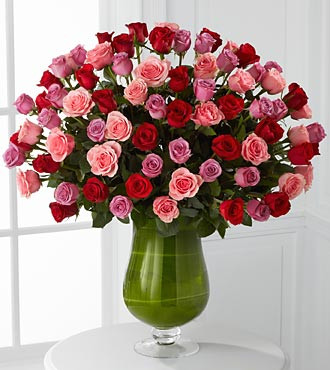 Luxury Rose Bouquet For Valentine's Day