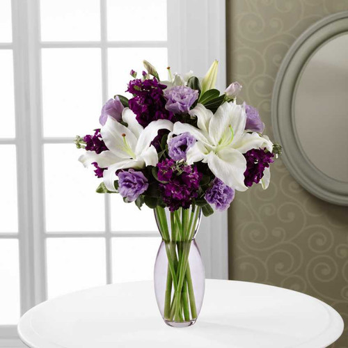 Lilies And Lavender