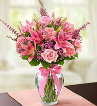 Expressions of Pink Flower Arrangement