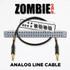 ZOMBIE Cable Analog Line Details at ZenProAudio.com