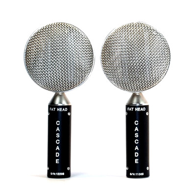 Cascade FAT HEAD Stereo Pair Black / Silver Front