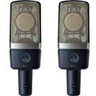 AKG C 214 Stereo Set Front at ZenProAudio.com