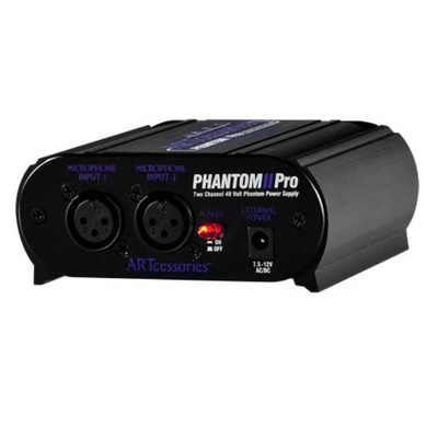 ART Phantom II Pro Front at ZenProAudio.com