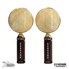 Cascade FAT HEAD Stereo Pair Brown / Gold Lundahl Front