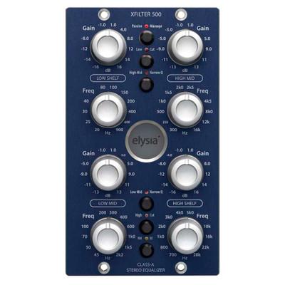 elysia xfilter 500 Front at ZenProAudio.com