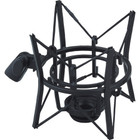 Oktava Large Diaphragm Shock Mount (Black) Side at ZenProAudio.com