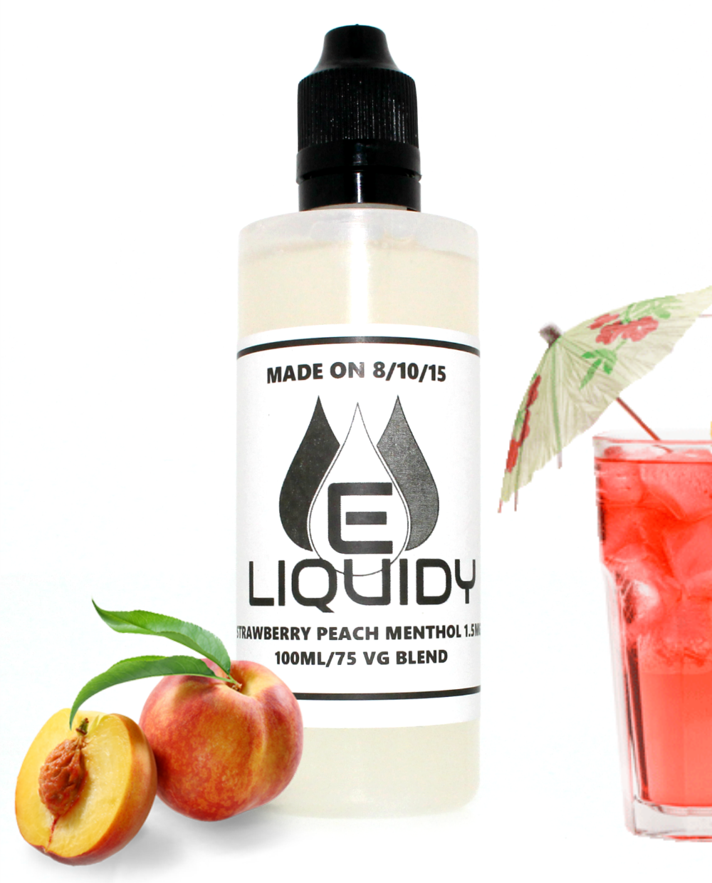 Eliquidy Strawberry Peach Menthol